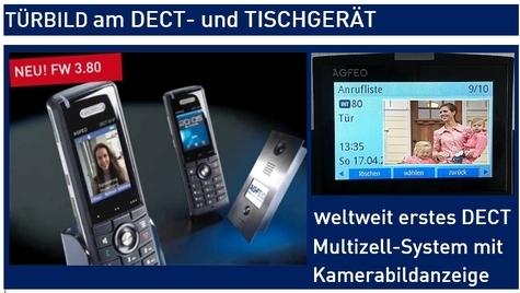 AGFEO Telefon Türbildanzeige Klingel
